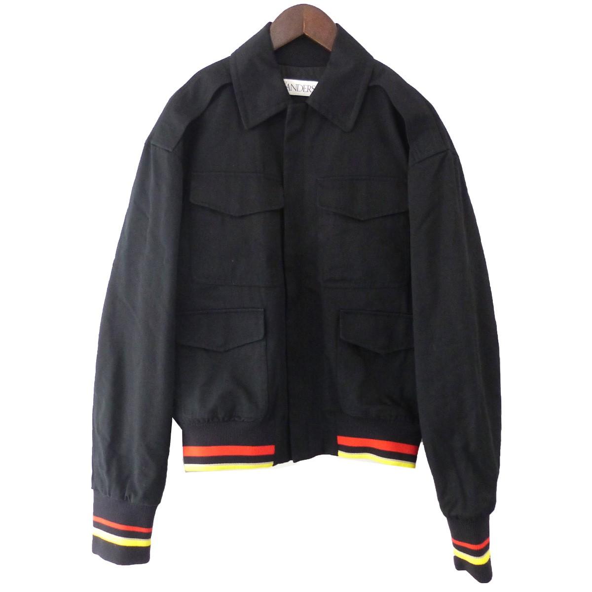 【中古】J.W.Anderson 「MULTI POCKET JACKET」マルチポケットジャケット ブラック サイズ:46 【020420】(ジョナサンウィリアムアンダーソン)
