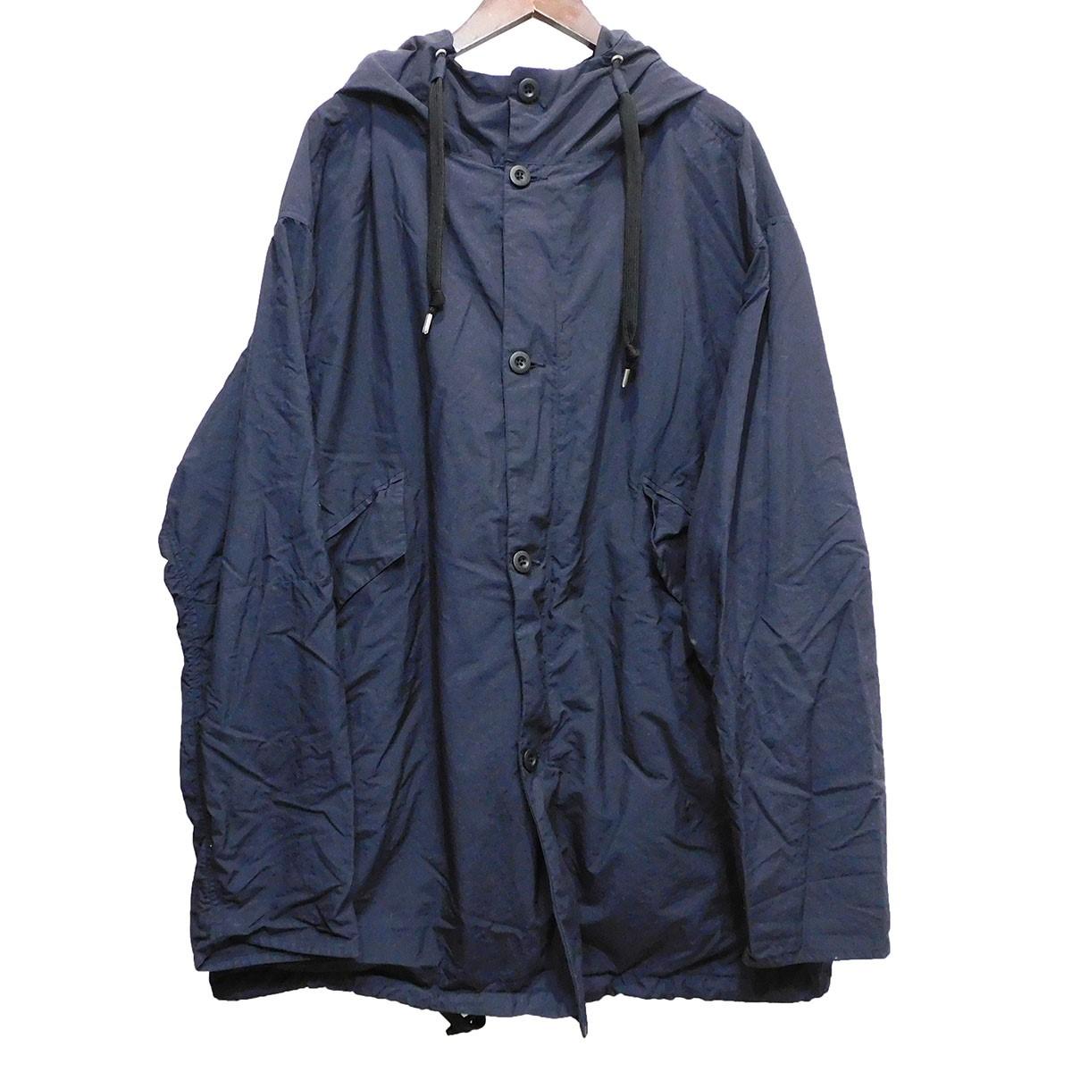【中古】TEATORA「Souvenir Hunter Packable」 パッカブルナイロンジャケット ネイビー サイズ:48 【5月11日見直し】