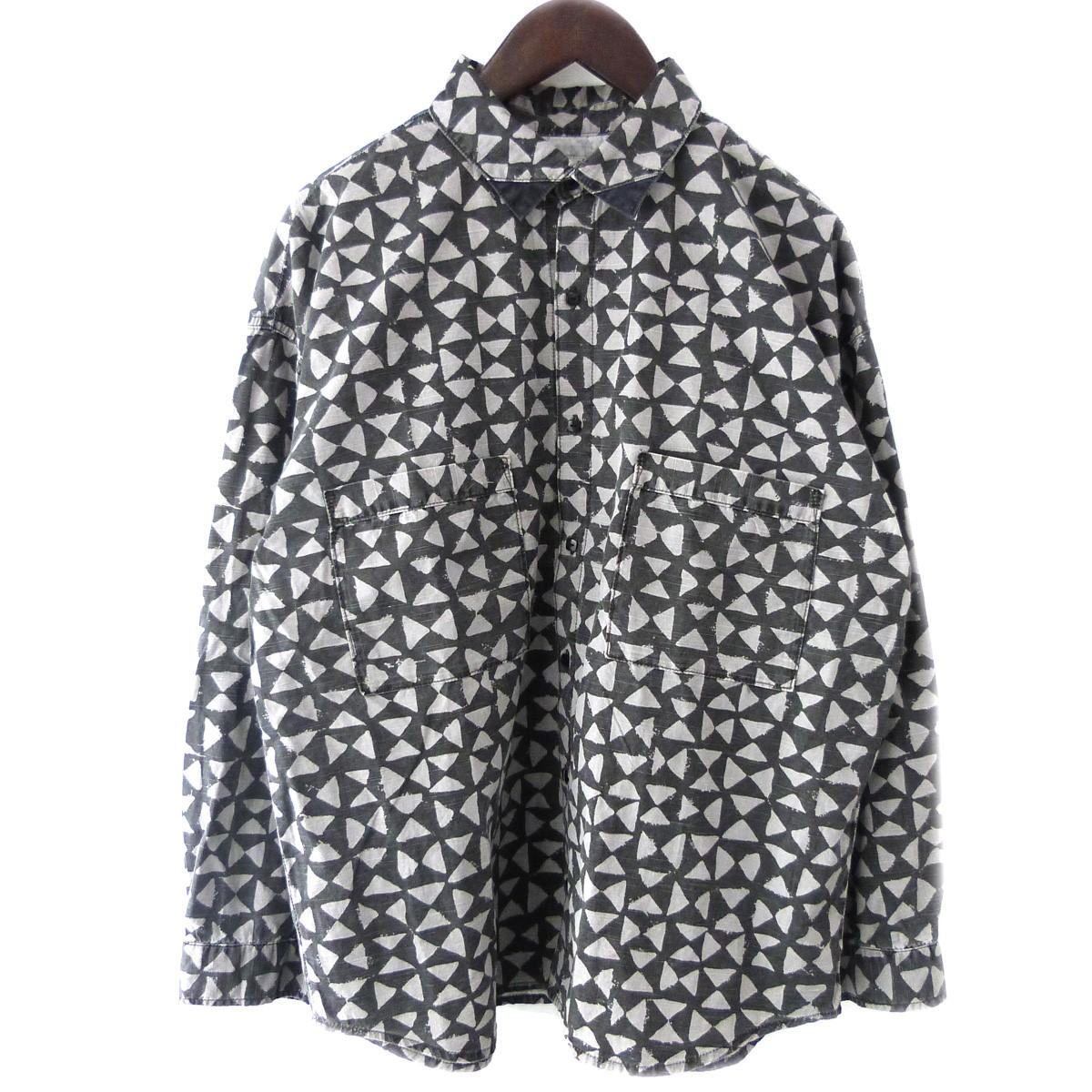 【中古】TENDERLOIN 19AW「T-SLUB SHT」スラブシャツ ブラック サイズ:S 【040420】(テンダーロイン)