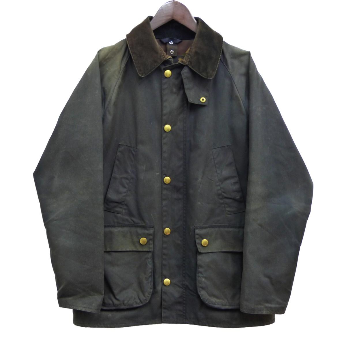 【中古】Barbour オイルドジャケット チャコールグレー サイズ:36 【040420】(バーブアー)