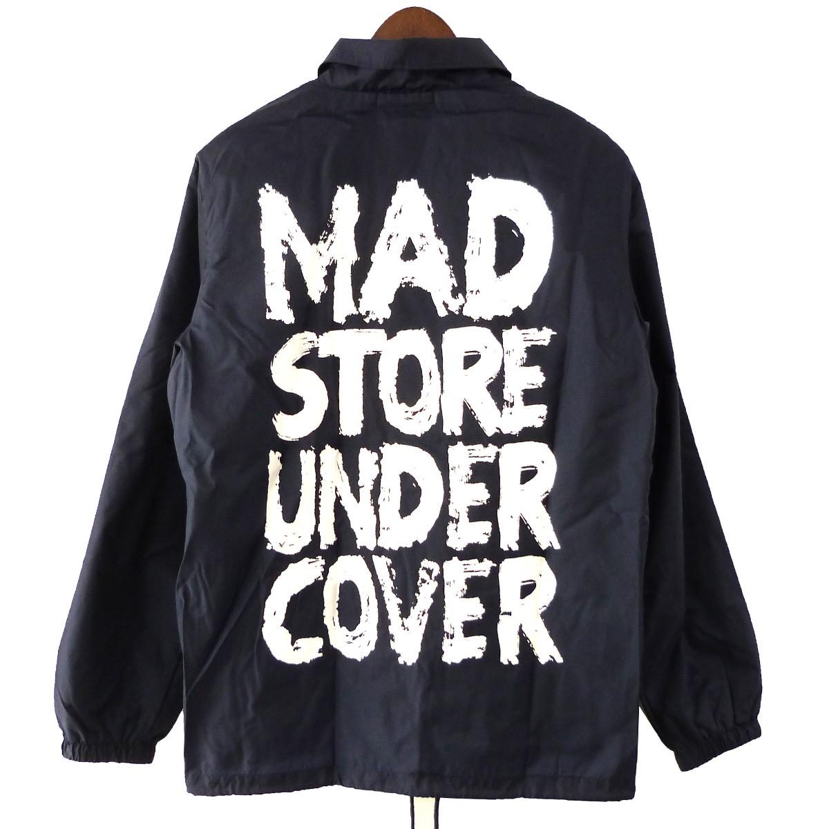 【中古】UNDER COVER MAD STORE限定コーチジャケット ネイビー サイズ:M 【050420】(アンダーカバー)