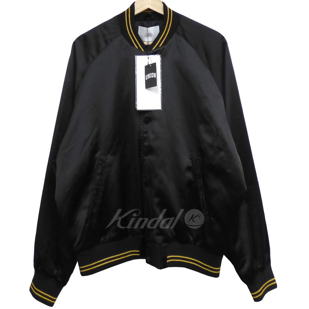 【中古】STAMPD Coaches Baseball Jacketベースボールジャケット ブラック サイズ:M 【040420】(スタンプド)
