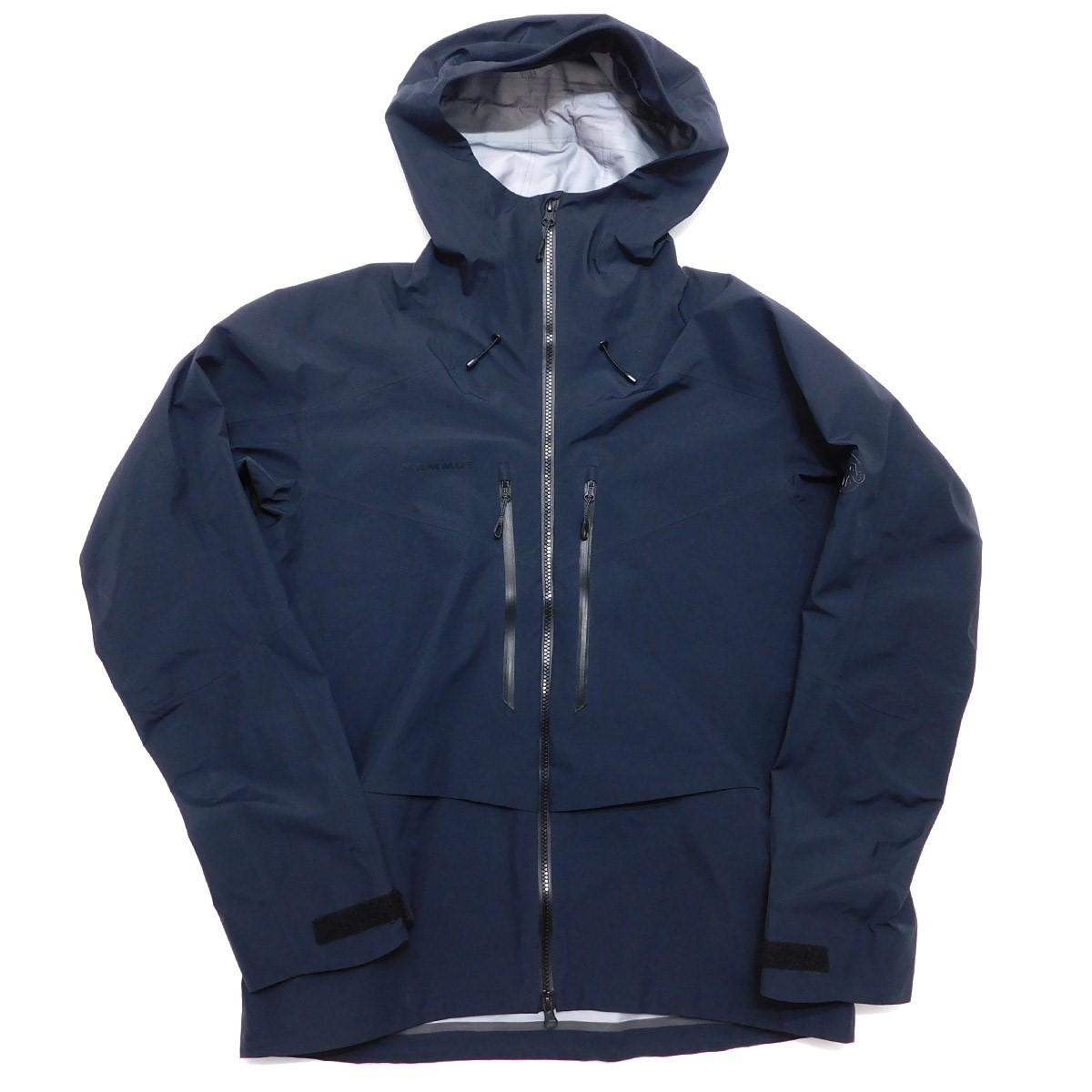 【中古】MAMMUT Teton HS Hooded AF 1010-27120 GORE-TEXマウンテンパーカー ブラック サイズ:asia:XL 【040420】(マムート)