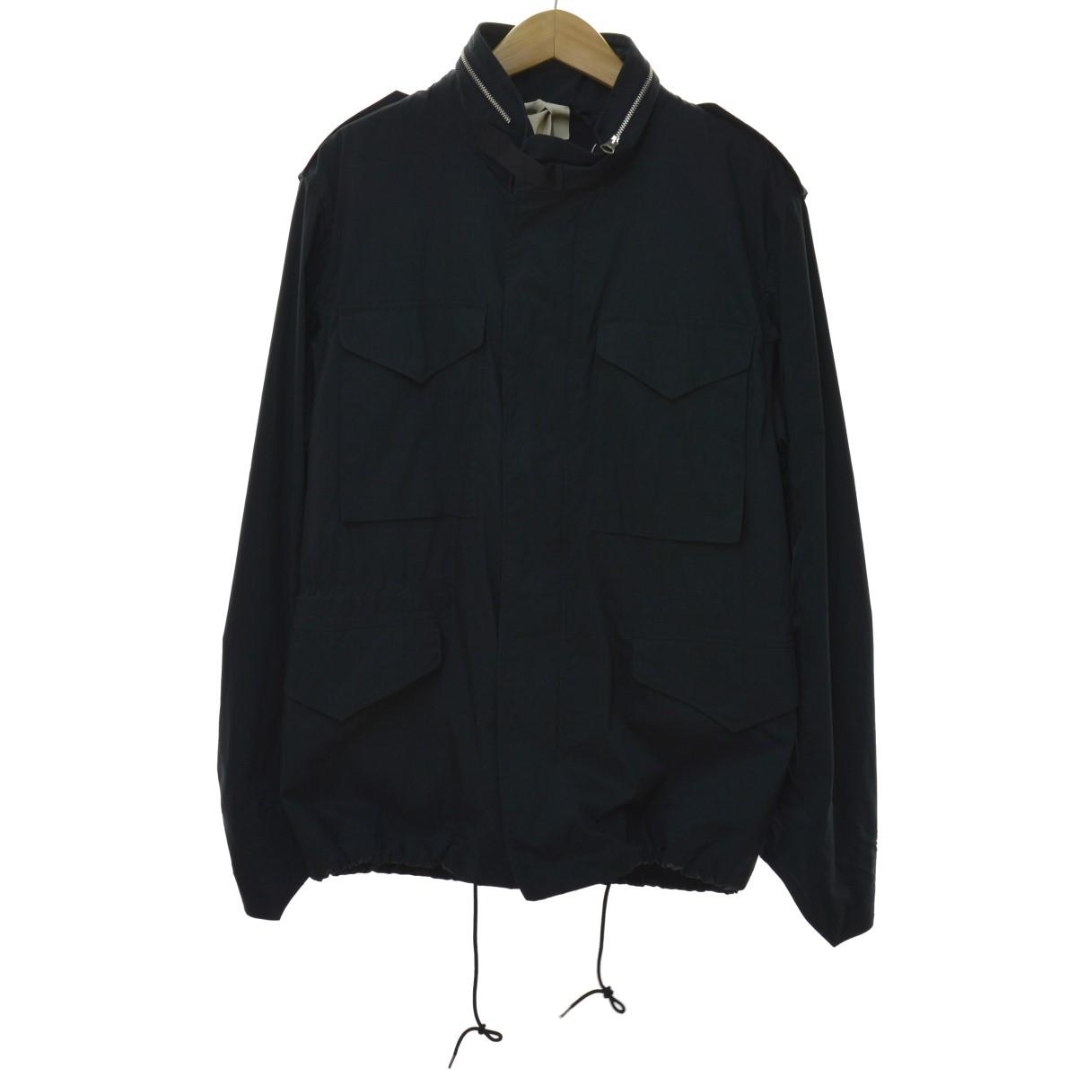 【中古】Ten C 「M93/494 Field Jacket」フィールドジャケット ブラック サイズ:50 【050420】(テンシー)