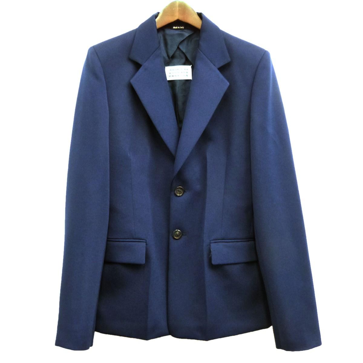 【中古】Martin Margiela1 20SSノッチド2Bジャケット ネイビー サイズ:40 【050420】(マルタンマルジェラ1)