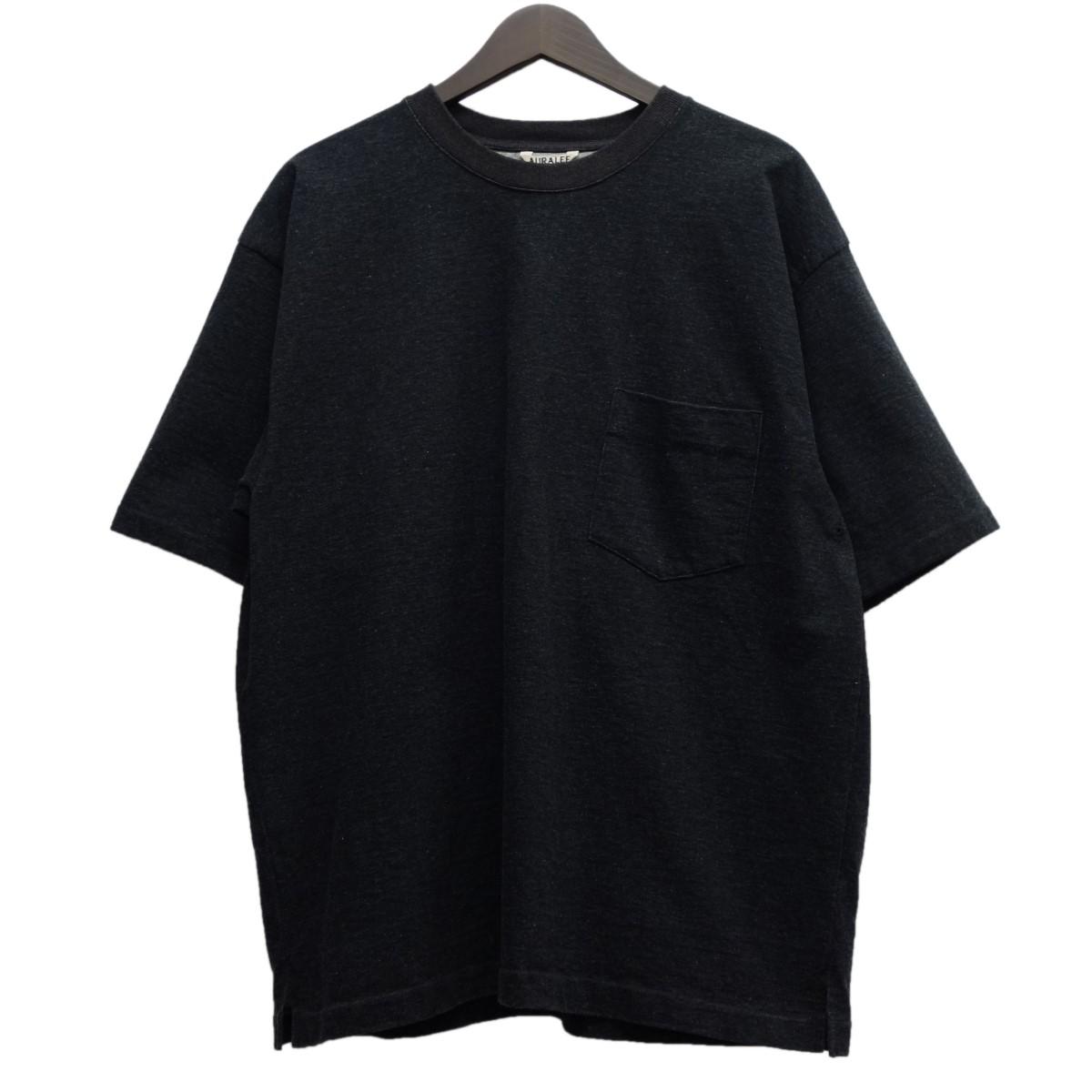 【中古】AURALEE 16AW「STAND UP TEE」ADAM ET ROPE別注 スタンドアップTシャツ インクブラック サイズ:4 【060420】(オーラリー)