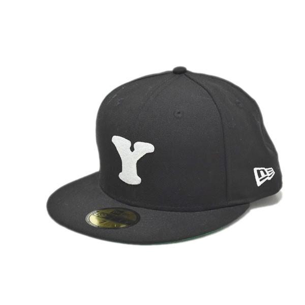 【中古】YOHJI YAMAMOTO ×READYMADE × NEWERA Yロゴキャップ HV-H48-971 ブラック サイズ:7 1/2(59.6cm) 【070420】(ヨウジヤマモト)