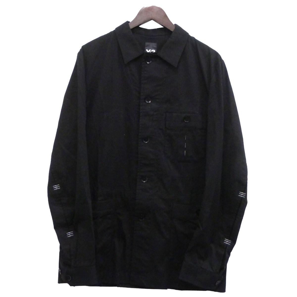 【中古】Y-3 「BARTACK BLAZER」シャツジャケット ブラック サイズ:S 【070420】(ワイスリー)