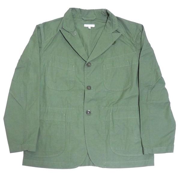 【中古】Engineered Garments 2020SS Bedford Jacket CottonRipstop ベッド フォード ジャケット オリーブ サイズ:S 【070420】(エンジニアードガーメンツ)