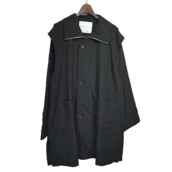 【中古】WISLOM ×CIAOPANIC ヨークコート ブラック サイズ:M 【080420】(ウィズロム×チャオパニック)