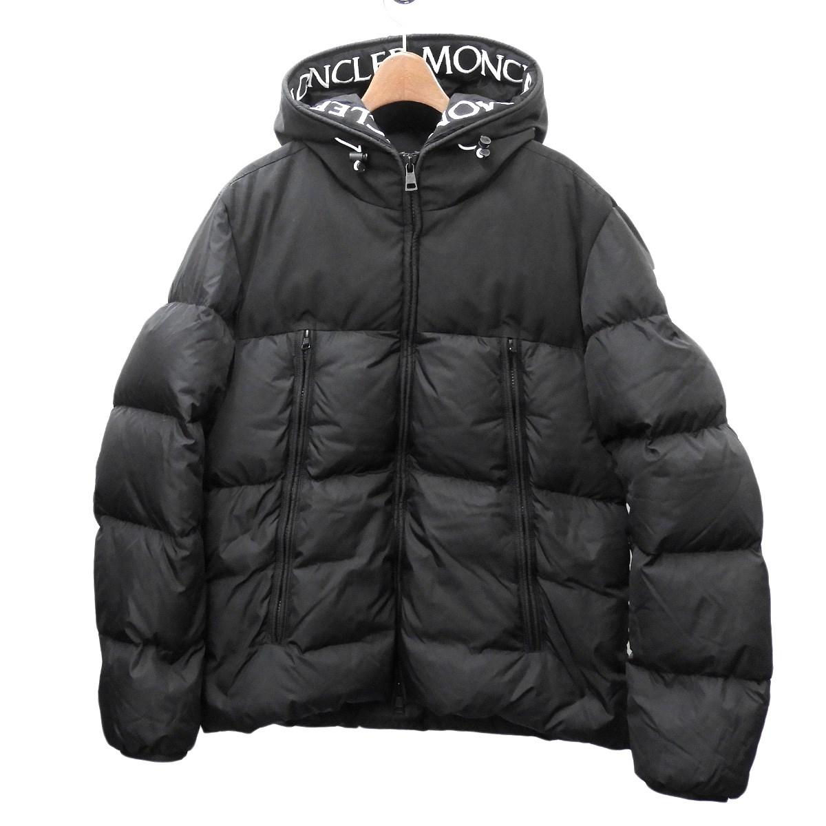 【中古】MONCLER 「MONCLAR」 ダウンジャケット ブラック サイズ:3 【090420】(モンクレール)