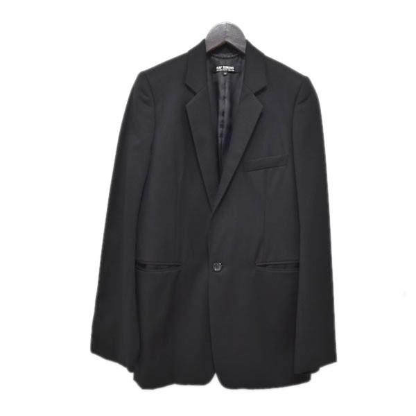 【中古】RAF SIMONS05AW 1Bジャケット ブラック サイズ:44 【4月27日見直し】