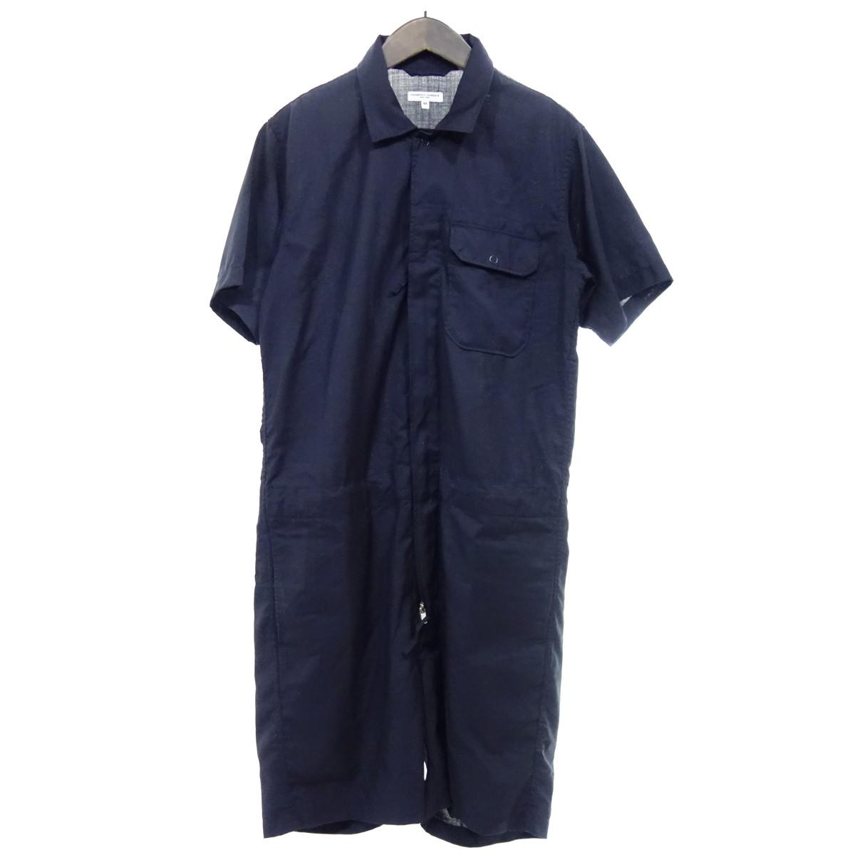 【中古】Engineered Garments オールインワン ネイビー サイズ:M 【090420】(エンジニアードガーメンツ)
