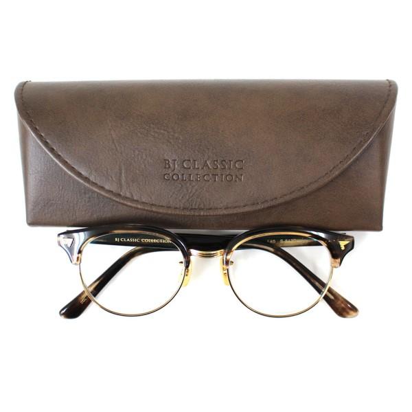 【中古】BJ Classic Collection SIRMONT S-8430 47□18-140 眼鏡フレーム 伊達メガネ ブラウン、ゴールド他 サイズ:- 【090420】(BJクラシックコレクション)