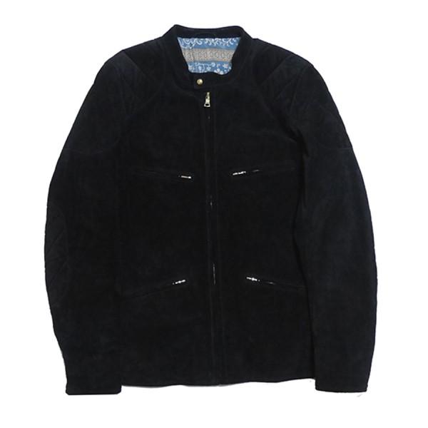 【中古】VISVIM MUNRO RIDERS JACKET レザー シングル ライダース ジャケット ブラック サイズ:3 【090420】(ビズビム)