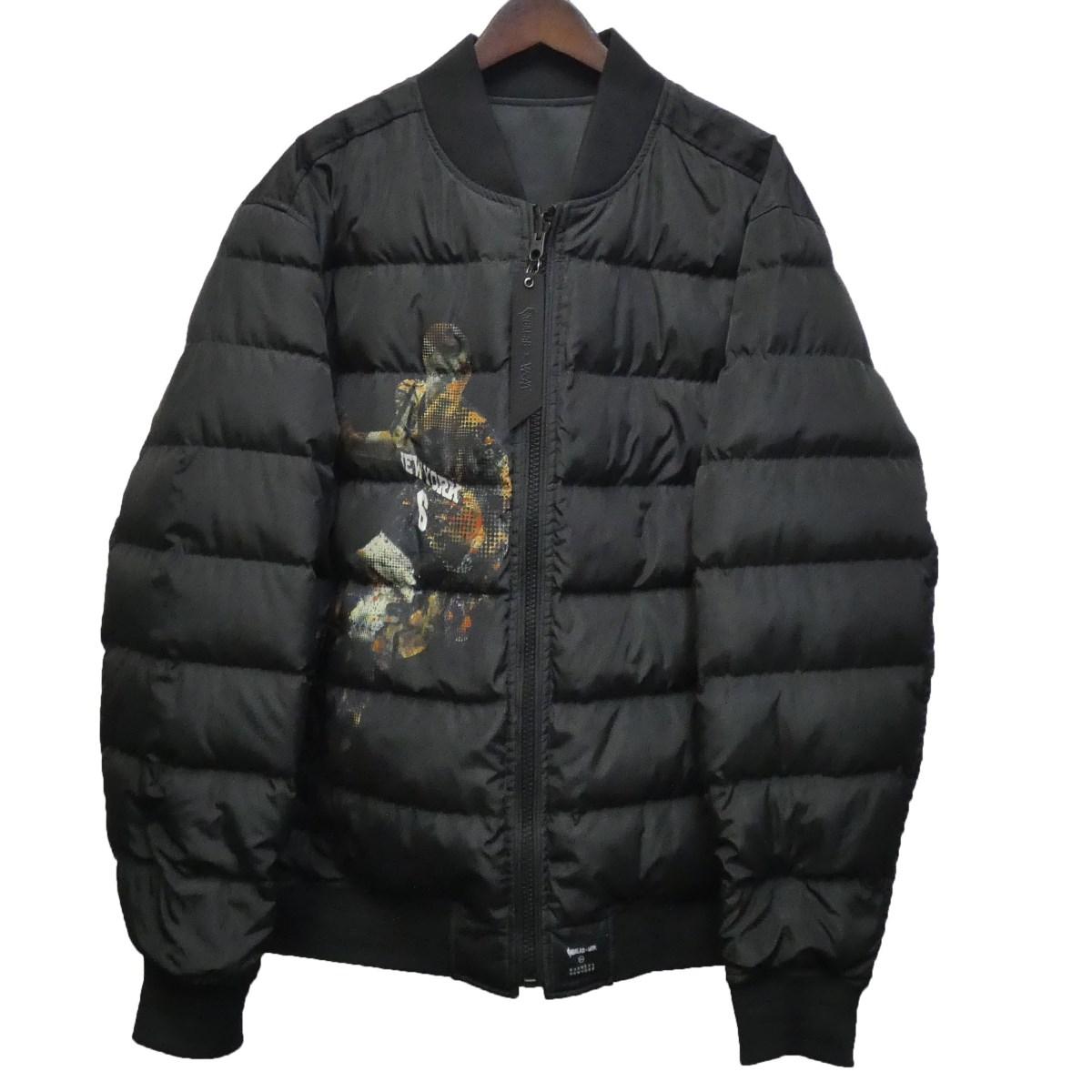 【中古】The Very Warm ×NBALAB ×BARNEYS NEWYORK リバーシブルボンバージャケット ブラック サイズ:XL 【100420】(ザベリーウォーム)