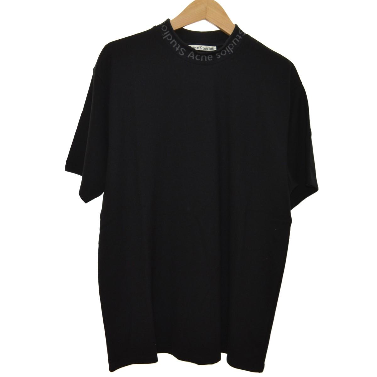 【中古】ACNE STUDIOS 19SS NAVID TEE ハイネックTシャツ ブラック サイズ:M 【110420】(アクネストゥディオズ)