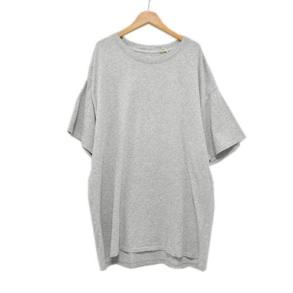 【中古】FOG ESSENTIALS バックプリント Tシャツ グレー サイズ:L 【110420】(エフオージー エッセンシャルズ)