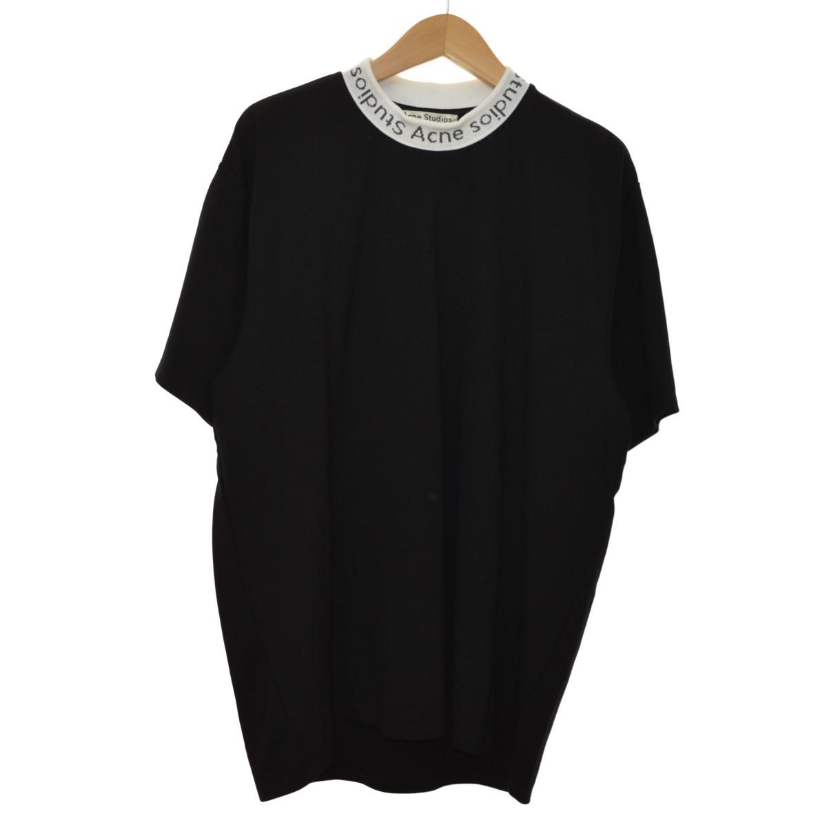 【中古】ACNE STUDIOS NAVID TEE ハイネックTシャツ ブラック サイズ:XL 【110420】(アクネストゥディオズ)