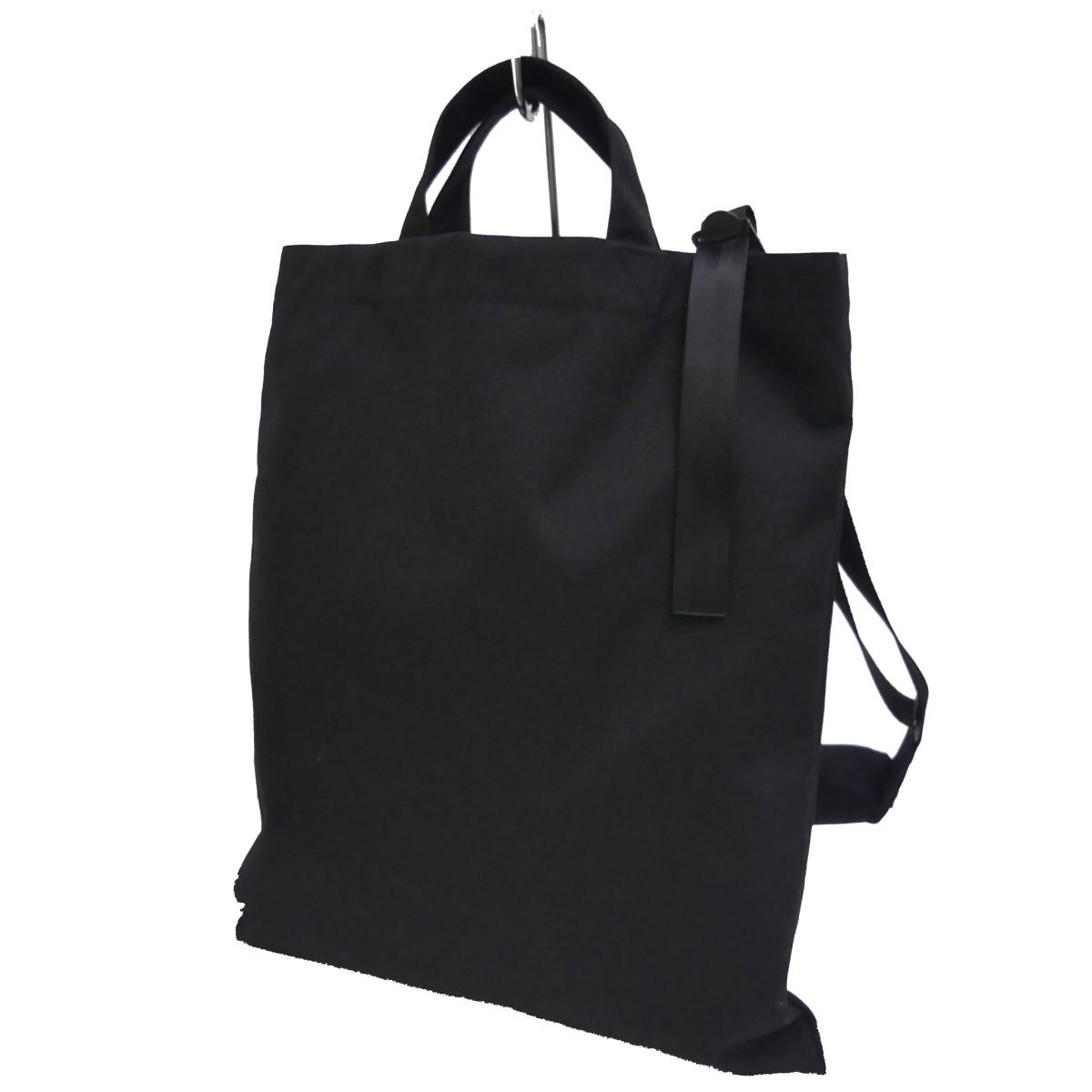 【中古】COMME des GARCONS HOMME DEUX ×Poter Classic Newtonbag ブラック 【110420】(コムデギャルソンオムドゥ)