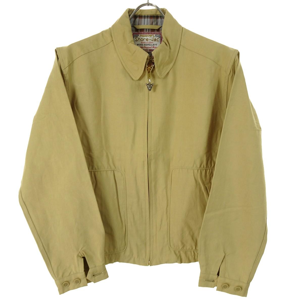 【中古】PHERROW'S SHORE JAC ハリントンジャケット ベージュ サイズ:40 【110420】(フェローズ)