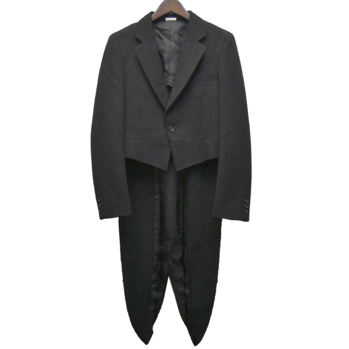 【中古】COMME des GARCONS HOMME PLUS 19AW 燕尾コート ブラック サイズ:XS 【110420】(コムデギャルソンオムプリュス)