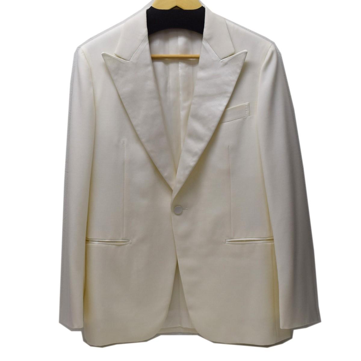 【中古】UNITED ARROWS タキシードジャケット ホワイト サイズ:46 【110420】(ユナイテッドアローズ)