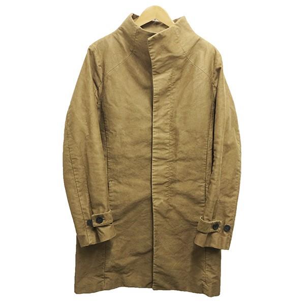 【中古】OURET スタンドカラーコート ブラウン サイズ:2 【120420】(オーレット)