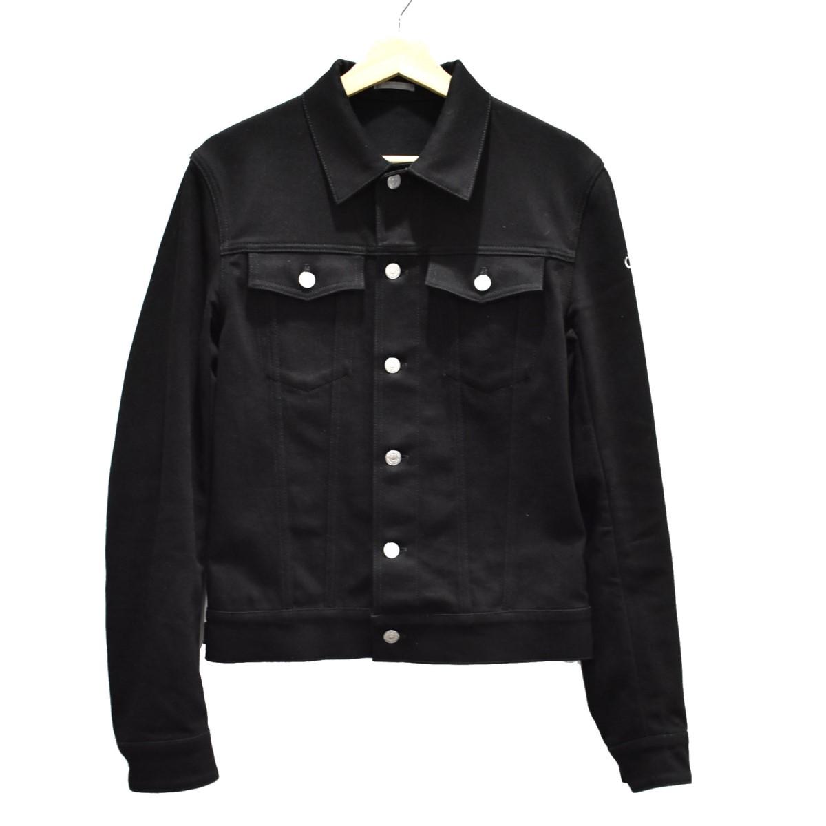 【中古】Dior Homme ATELIER Gジャン ブラック サイズ:46 【120420】(ディオールオム)
