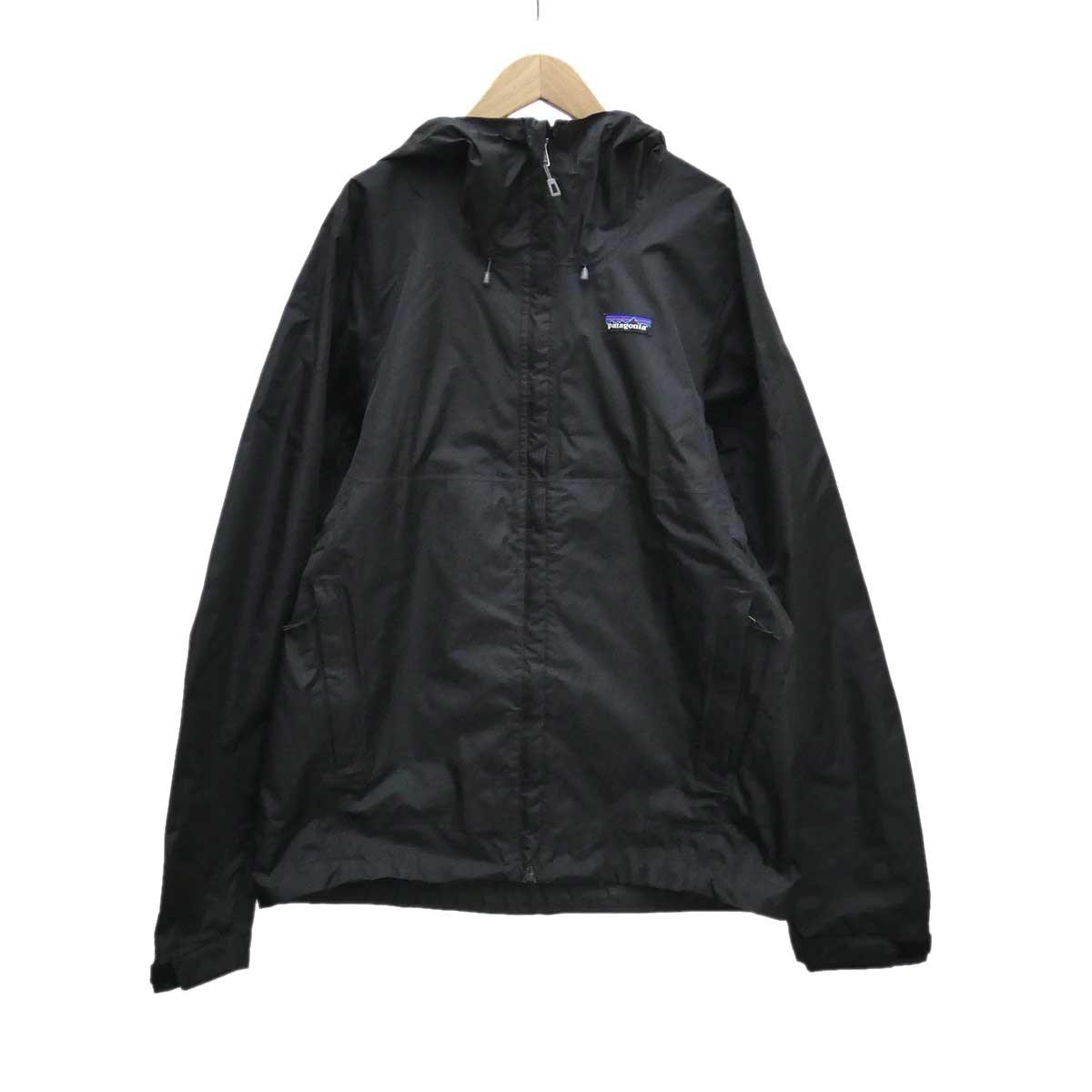 【中古】patagonia トレントシェル ジャケット ブラック サイズ:S 【130420】(パタゴニア)