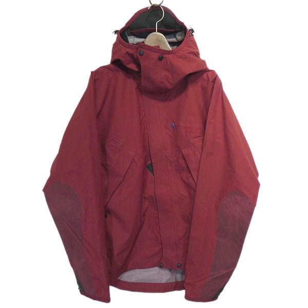 【中古】KLATTERMUSEN 「Allgron Jacket」3レイヤージャケット レッド サイズ:S 【130420】(クレッタルムーセン)