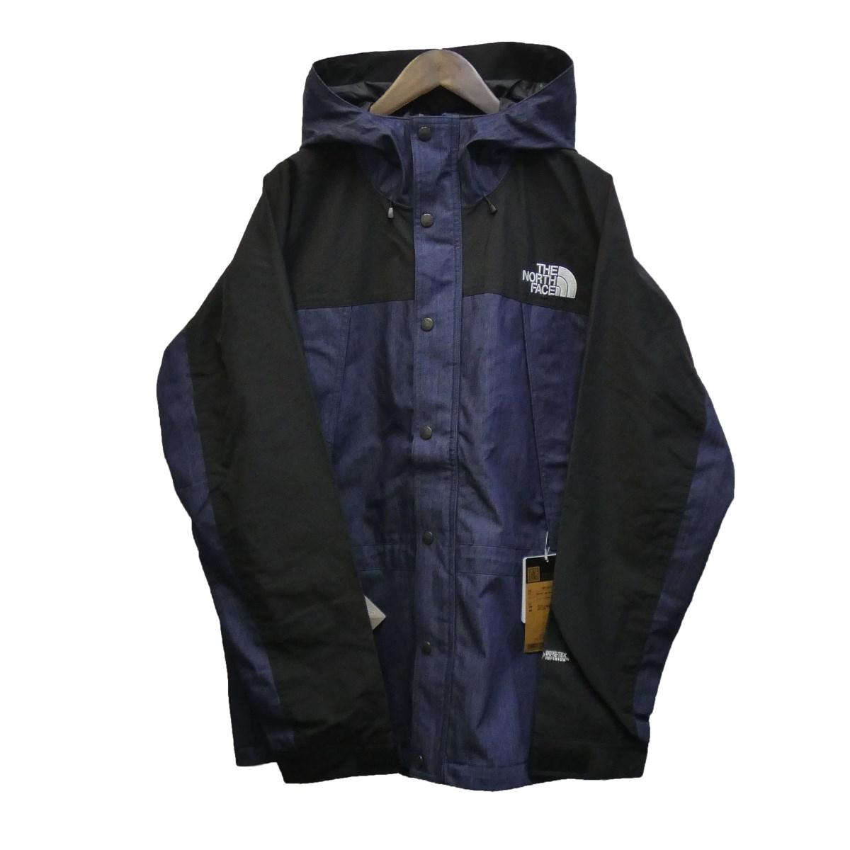 【中古】THE NORTH FACE 20SS 「Mountain Light Denim Jacket」マウンテンライトデニムジャケット インディゴ サイズ:XL 【130420】(ザノースフェイス)