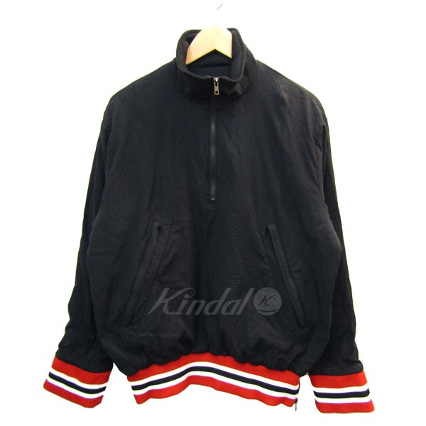【中古】ESSAY ジップアッププルオーバージャケット ブラック サイズ:M 【130420】(エッセイ)