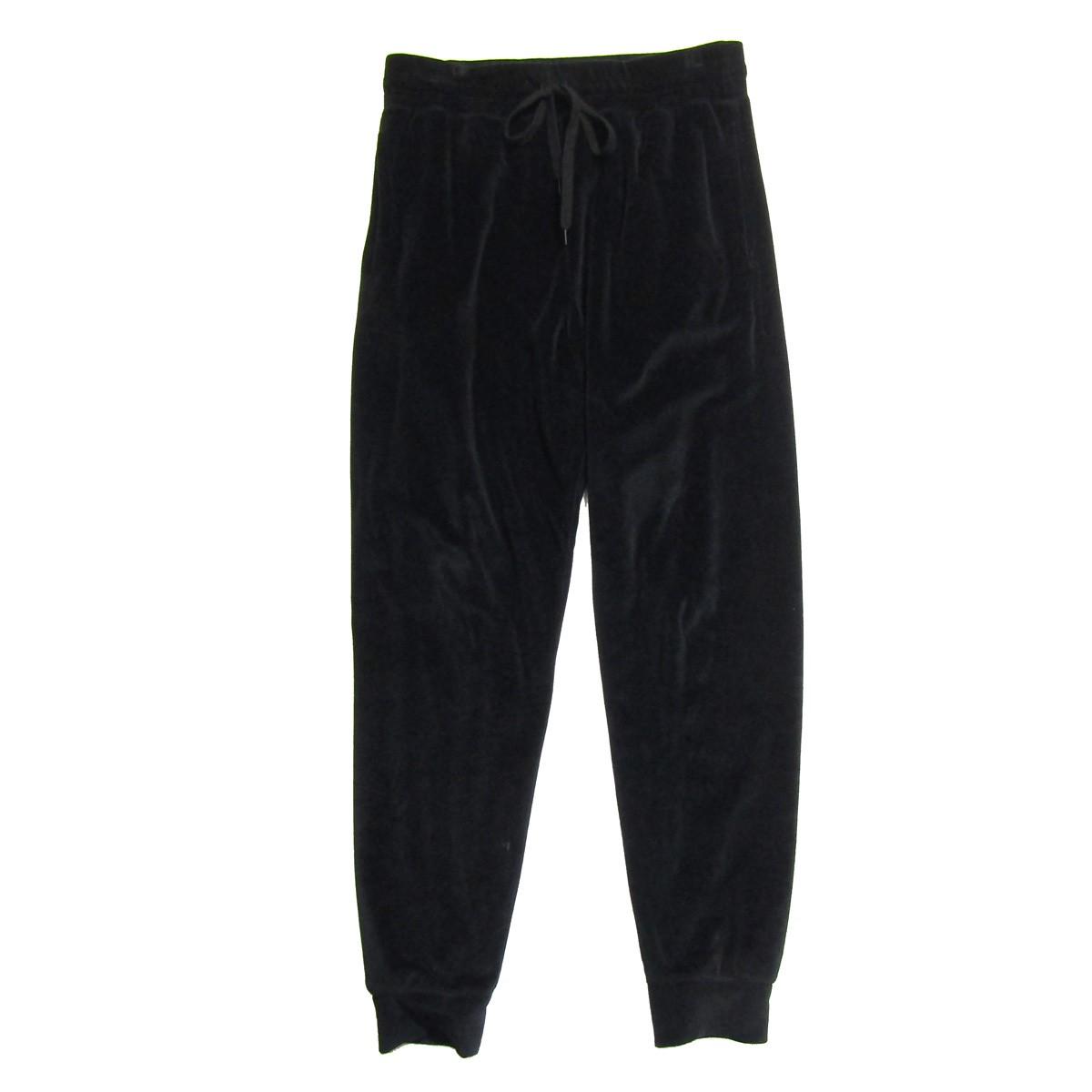 【中古】kozaburo2018SS Velour Sweat Pants/ベルベットスウェットパンツ ネイビー サイズ:0 【7月2日見直し】