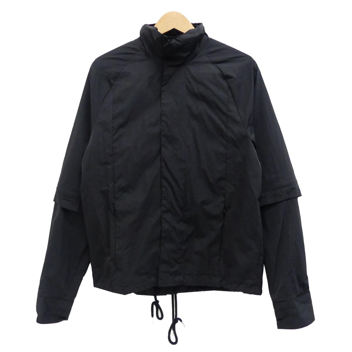 【中古】COTTWEILER ジップアップジャケット ブラック サイズ:M 【140420】(コットワイラー)
