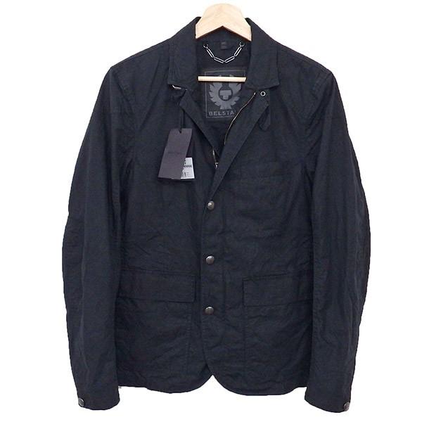 【中古】BELSTAFF ALLANDALE ジャケット ブラック サイズ:46 【130420】(ベルスタッフ)