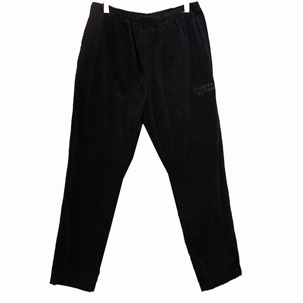 【中古】OCTOBERS VERY OWN20SS FAMILIA CORDUROY PANT BLACK コーデュロイパンツ ブラック サイズ:XL 【7月6日見直し】