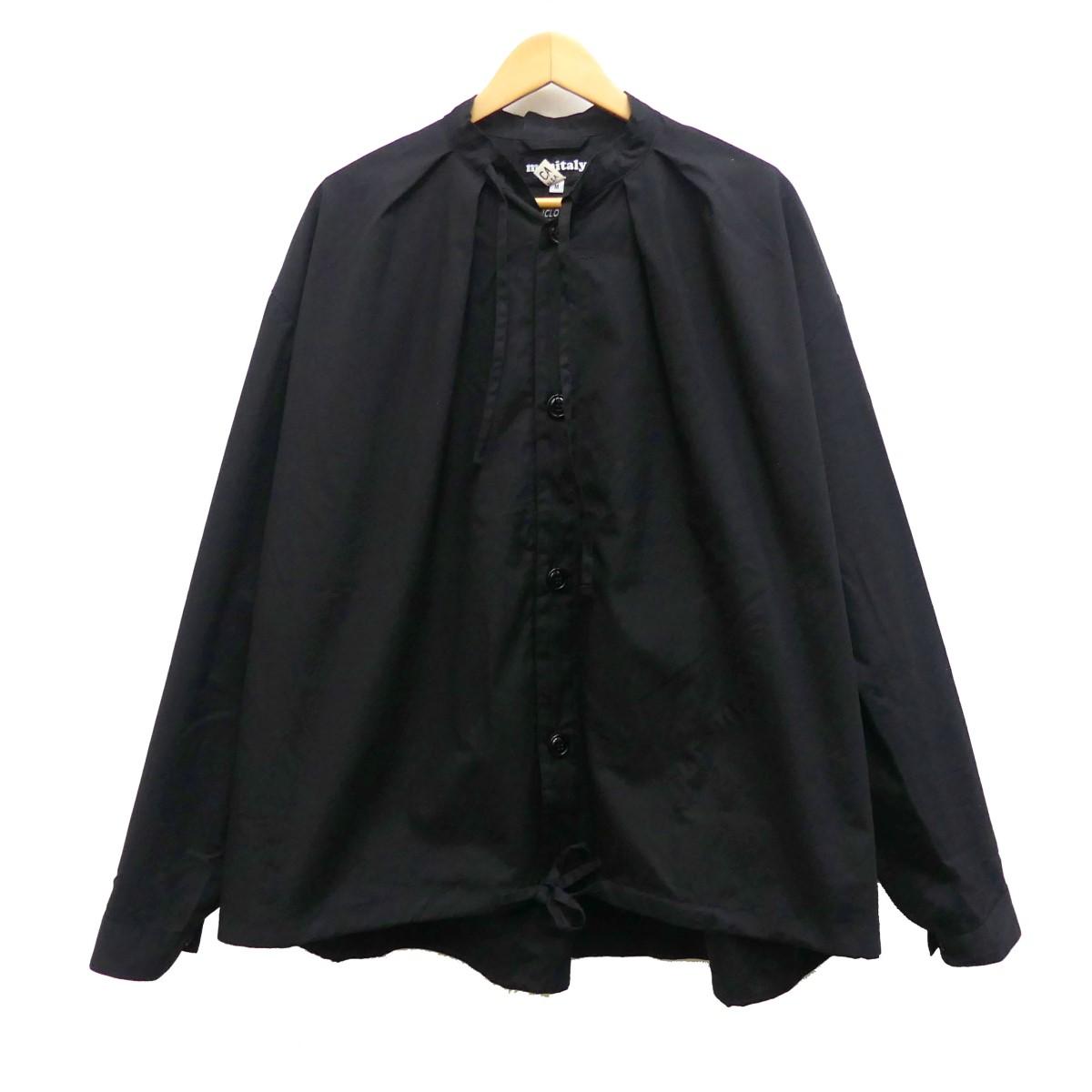 【中古】monitaly ×VANCLOTH&SONS ビッグサイズブルゾン ブラック サイズ:M 【150420】(モニタリー)