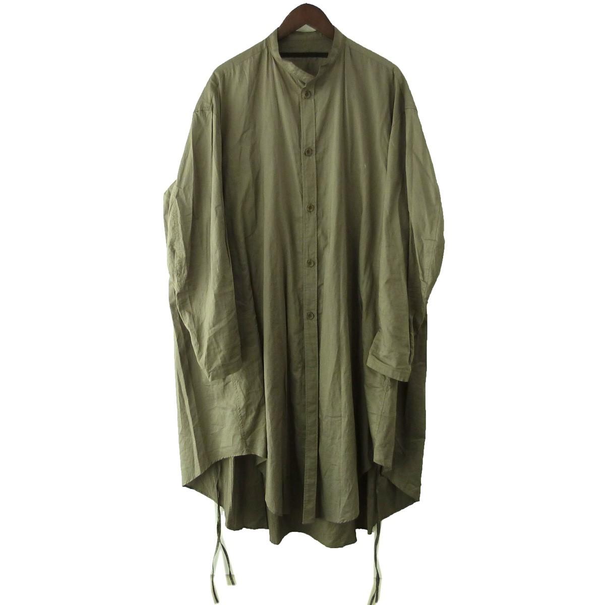 【中古】JULIUS20SS「OVER SHIRTS COAT」オーバーシャツコート ベージュ サイズ:2 【6月1日見直し】