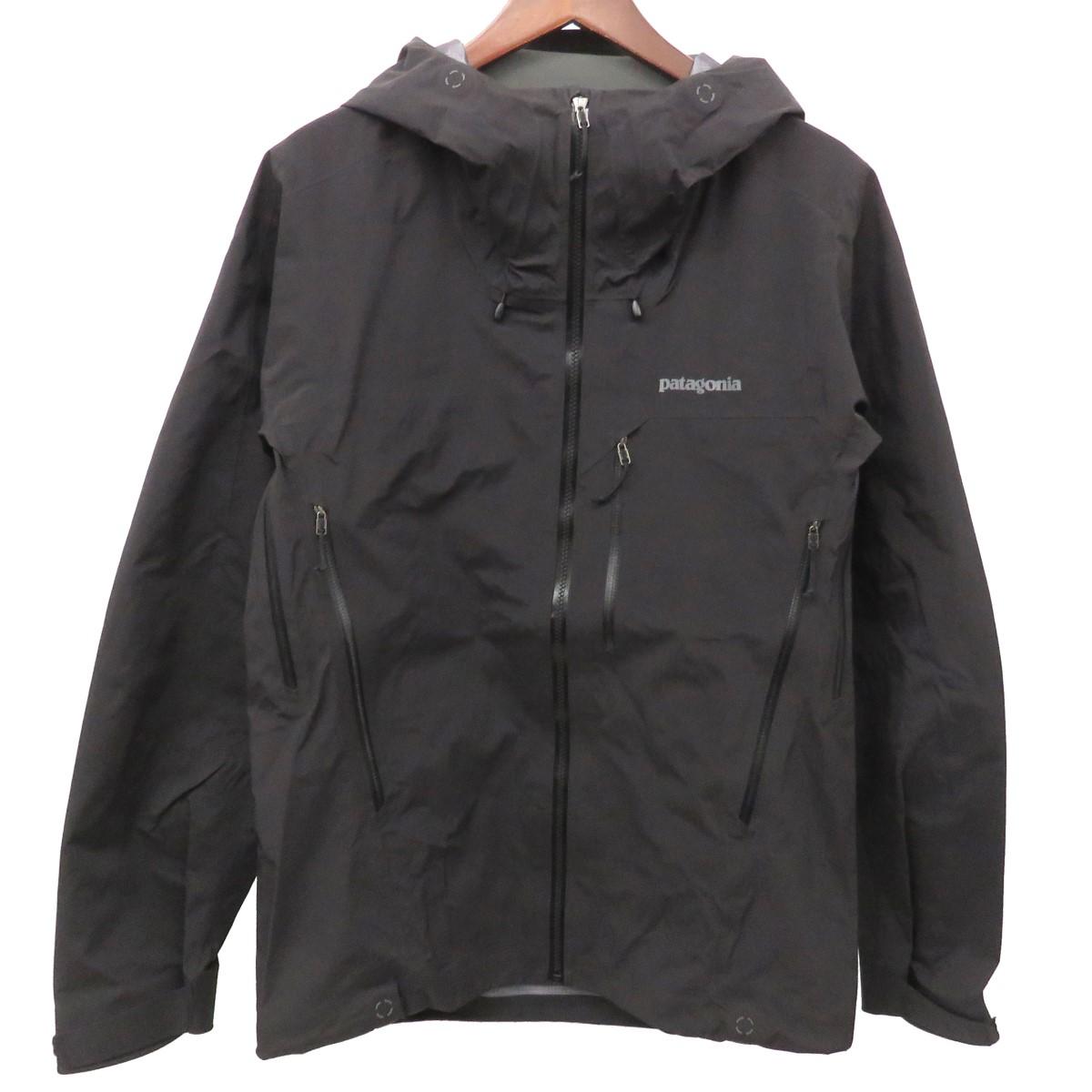 【中古】patagonia Pluma Jacket プルマジャケット マウンテンパーカー 83755 ブラック サイズ:XS 【150420】(パタゴニア)