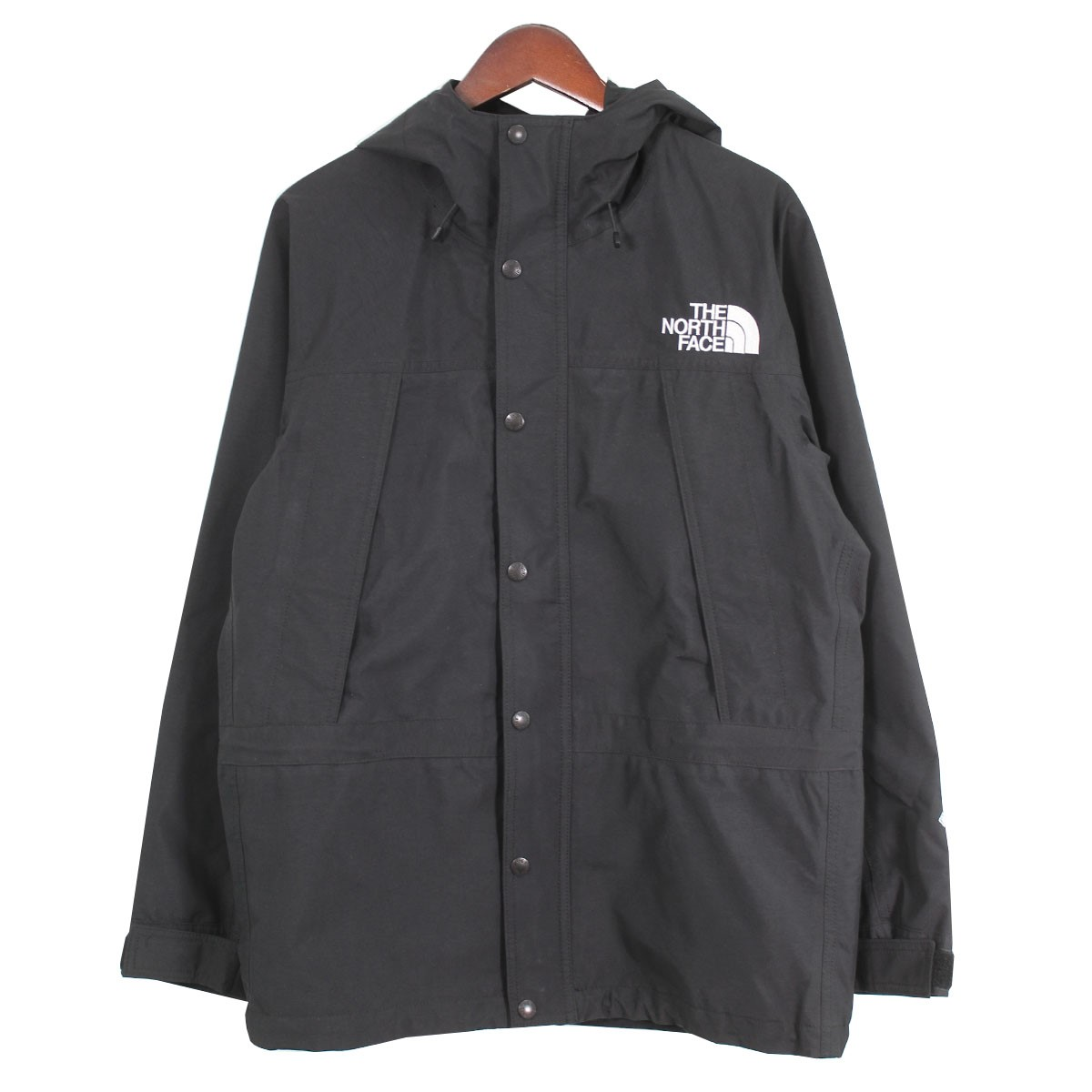 【中古】THE NORTH FACE MOUNTAIN LIGHT JACKET GORE-TEXジャケット ブラック サイズ:S 【150420】(ザノースフェイス)