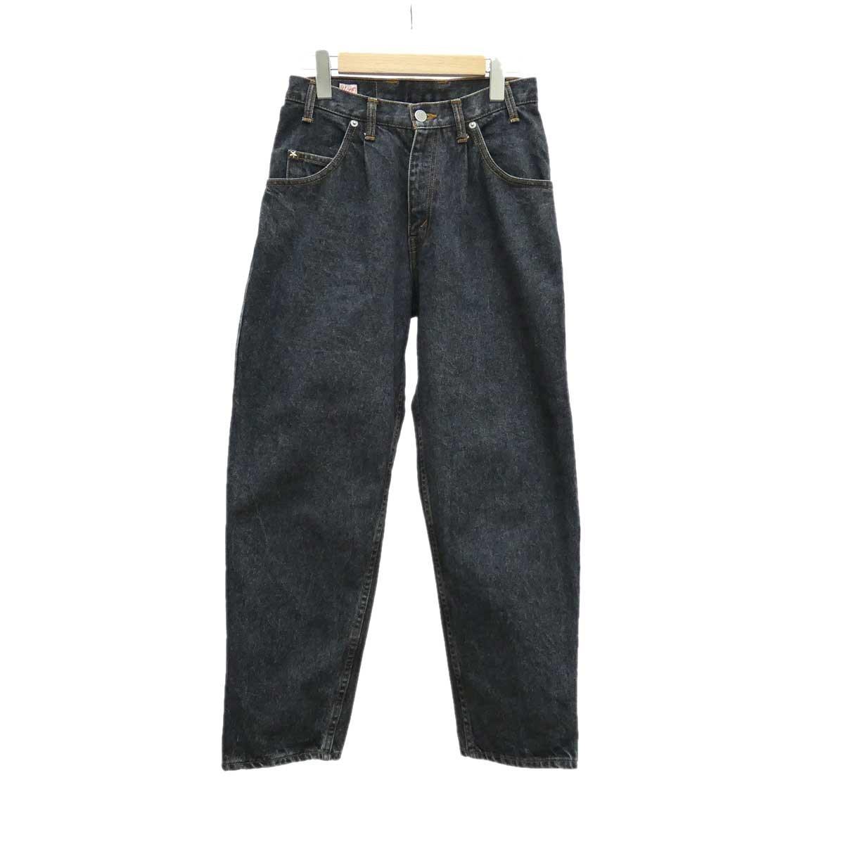 【中古】YOUNG&OLSEN The DRYGOODS STORE ヤングテキサスジーンズ ブラック サイズ:W26 【160420】(ヤングアンドオルセン)