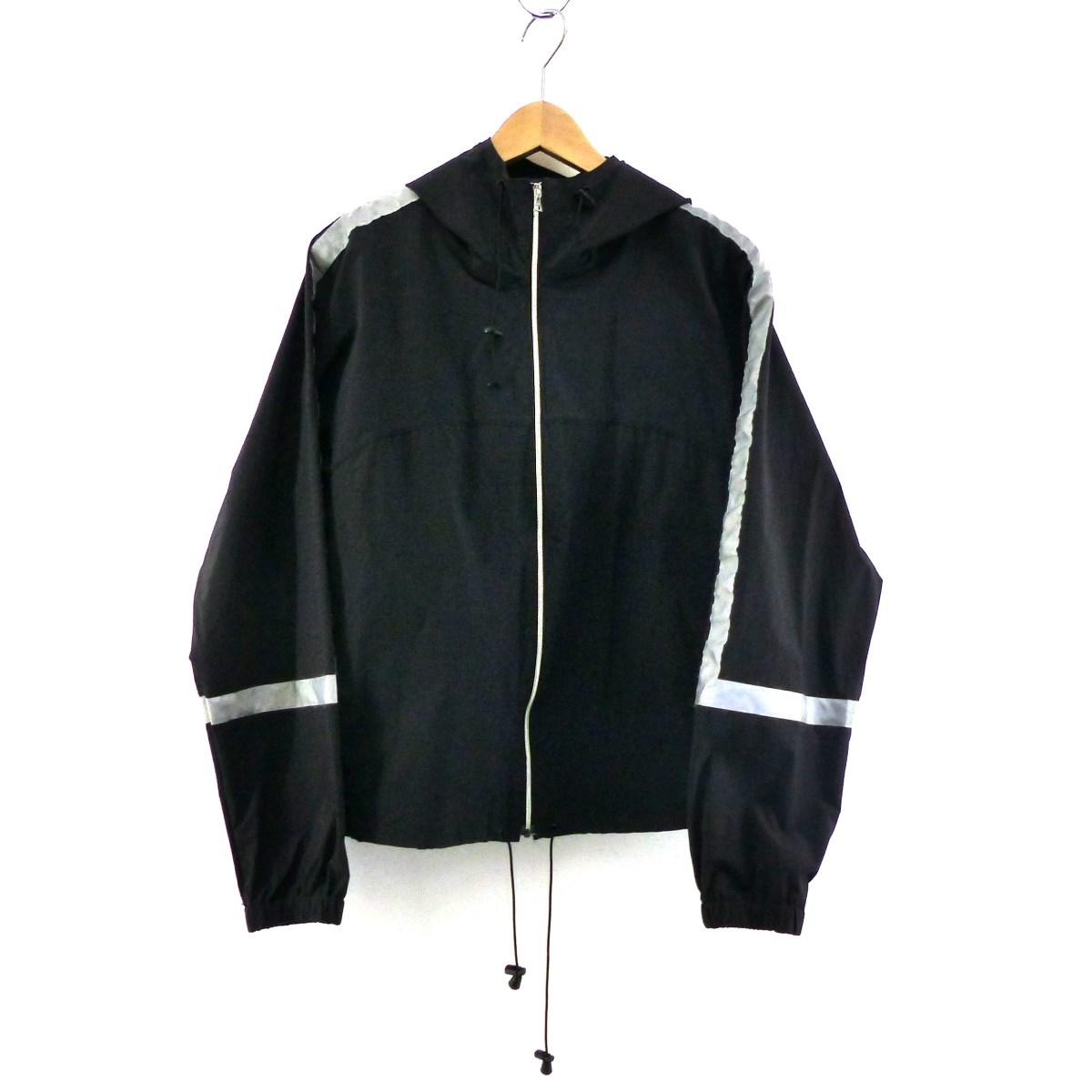 【中古】URU リフレクタージップアップジャケット ブラック サイズ:3 【160420】(ウル)