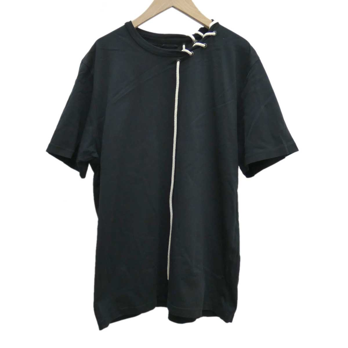 【中古】CRAIG GREEN ロープネックTシャツ ブラック サイズ:L 【160420】(クレイググリーン)