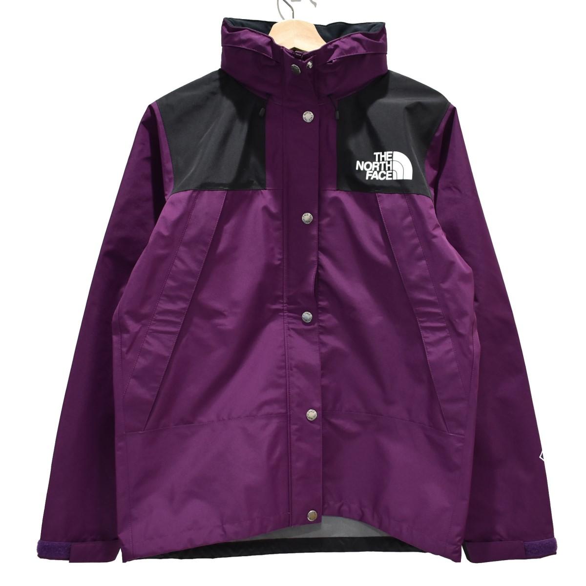【中古】THE NORTH FACE Mountain Raintex Jacket マウンテンパーカー パープル サイズ:L 【170420】(ザノースフェイス)