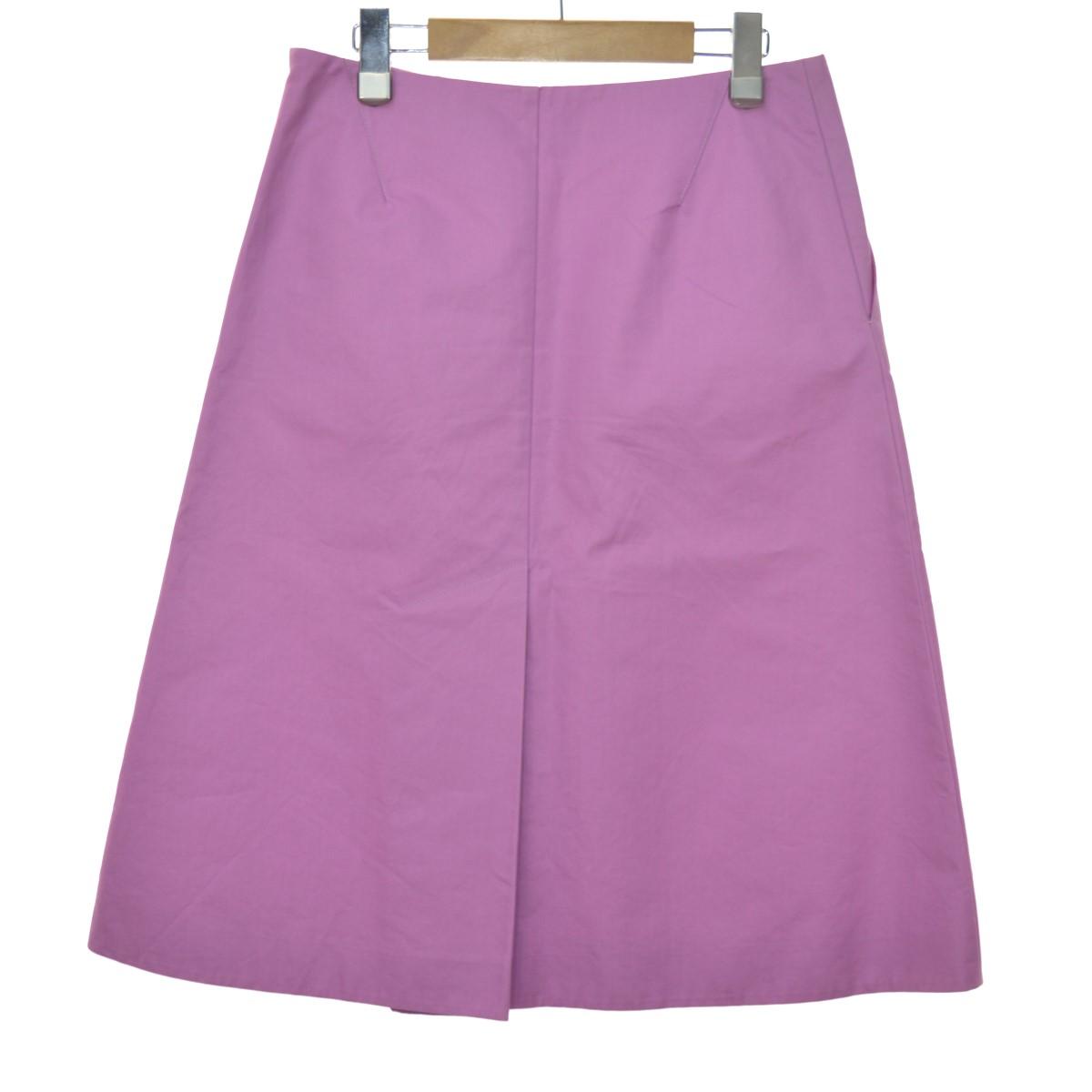 【中古】DRAWER Aラインスカート バイオレット サイズ:36 【170420】(ドゥロワー)