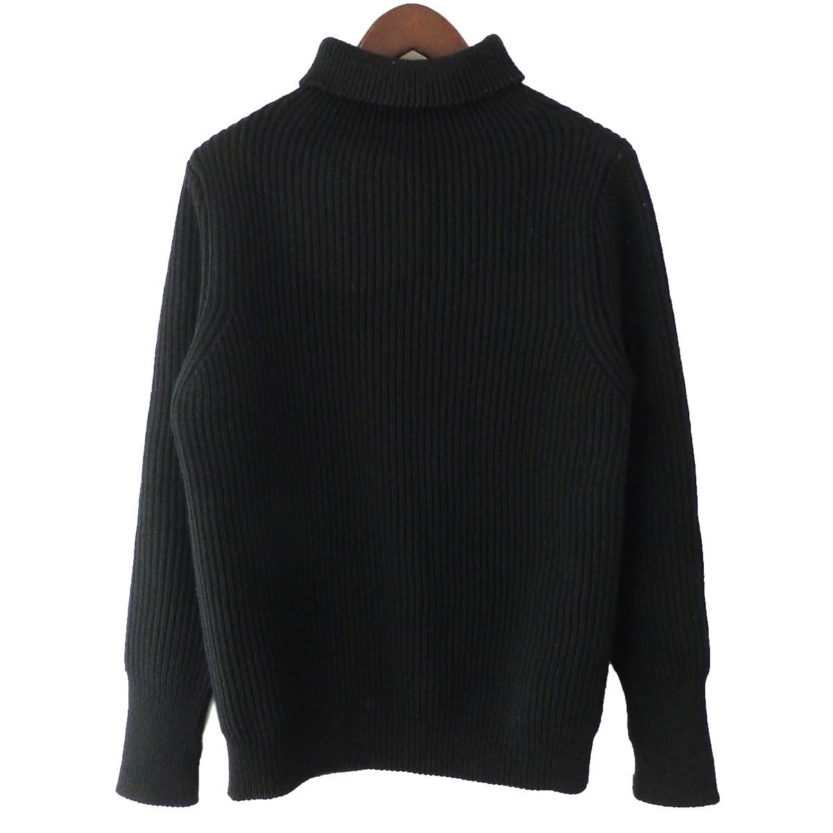 【中古】Andersen-Andersen タートルネックニットセーター ブラック サイズ:XS 【170420】(アンデルセン アンデルセン)