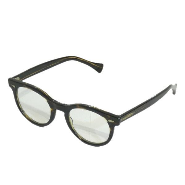 【中古】OLIVER PEOPLES 「Gregory Pack-J」眼鏡 ブラウン サイズ:45□23-145 【170420】(オリバーピープルズ)