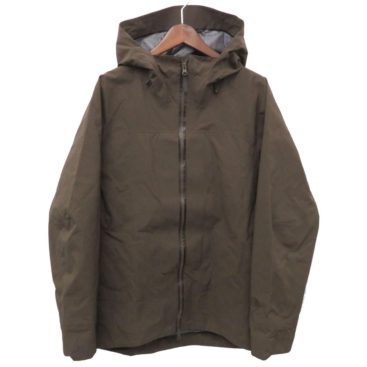 【中古】THE NORTH FACE GADGET HANGAR HOODIE フーデッドジャケットマウンテンパーカー ブラウン サイズ:L 【170420】(ザノースフェイス)