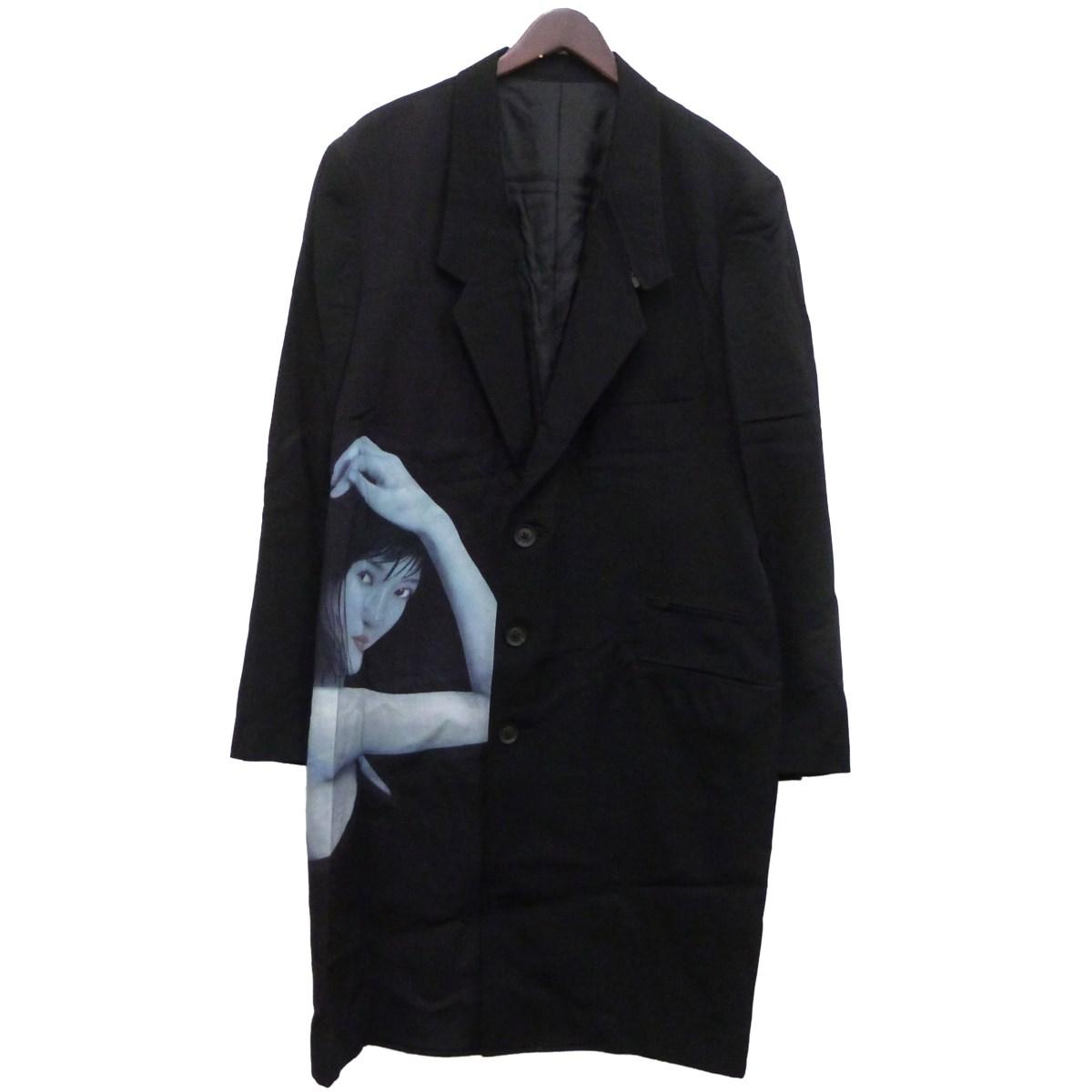 【中古】BLACK SCANDAL YOHJI YAMAMOTO×内田すずめ 18AW 街子ジャケット ブラック サイズ:2 【170420】(ブラック スキャンダル ヨウジヤマモト×内田すずめ)